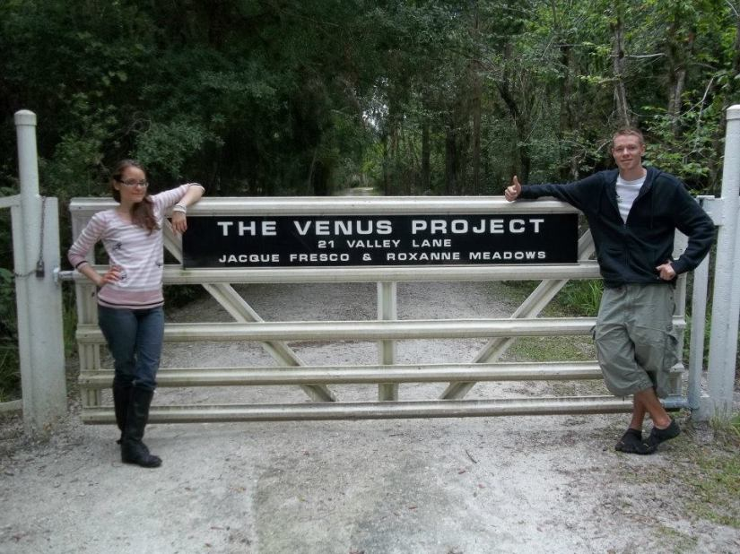 Entrance to The Venus Project