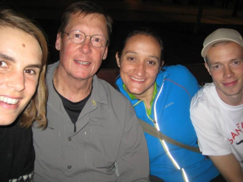 Irene, Gary, Kristina & the Bull Runner