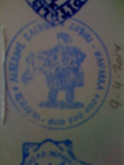 Stamp From Zubiri