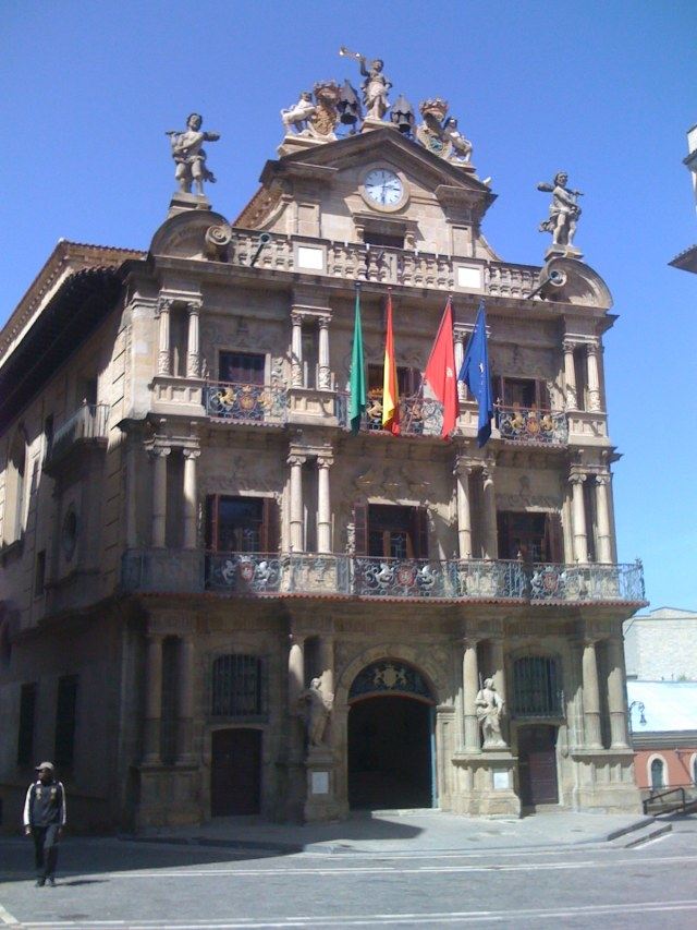 Pamplona´s Town Hall