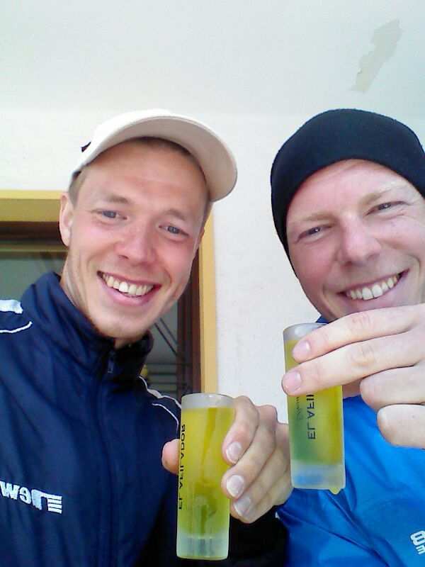 The Danes Tasting the Sweet Juices of Spain. But What is up With That Tooth of Mine???