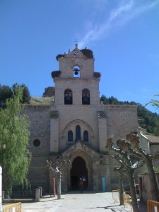 One of the Many Churches we Passed - This one in Belorado