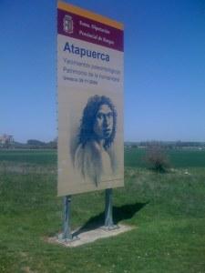 Entering Atapuerca