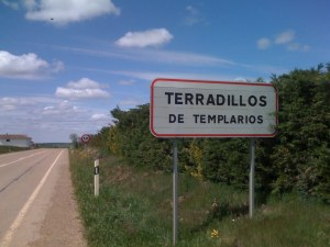 Entering Terradillos de los Templarios