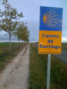 The Sign is a EU-Landmark Protecting The Camino to Santiago