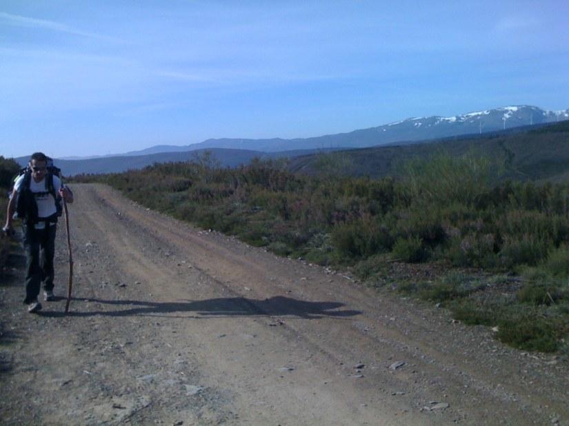 My Companions: Ricardo, The Way and Beautiful Landscape