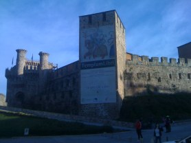 The Templars Castle of Ponferrada