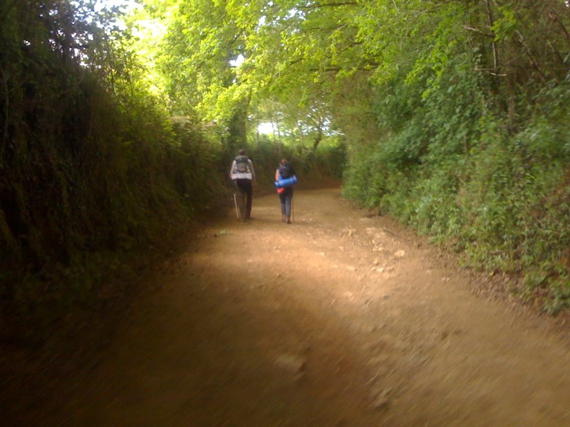 The two in Front had Walked the Northern Camino