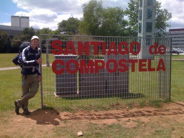 I did it! Arrived Santiago de Compostella